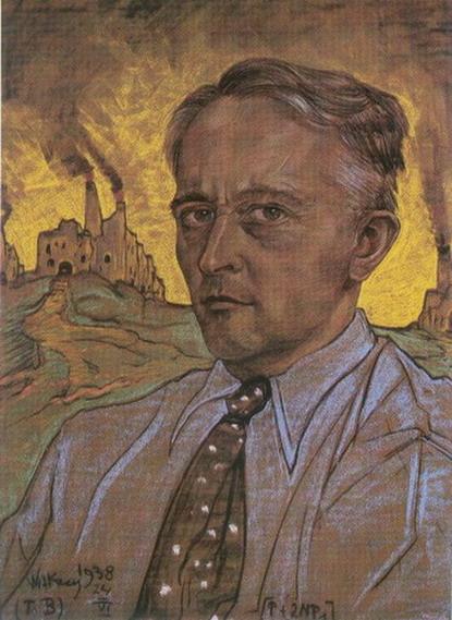 Stanisław Ignacy Witkiewicz (Witkacy) - Autoportret